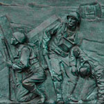 WWII War Memorial Relief | HowardZinn.org