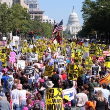 Antiwar Protest, Sept. 15, 2007 • WikiCommons