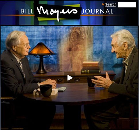 Zinn and Moyers interview screenshot