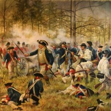 Revolutionary War Battle • Artist unknown • Georgia Studies