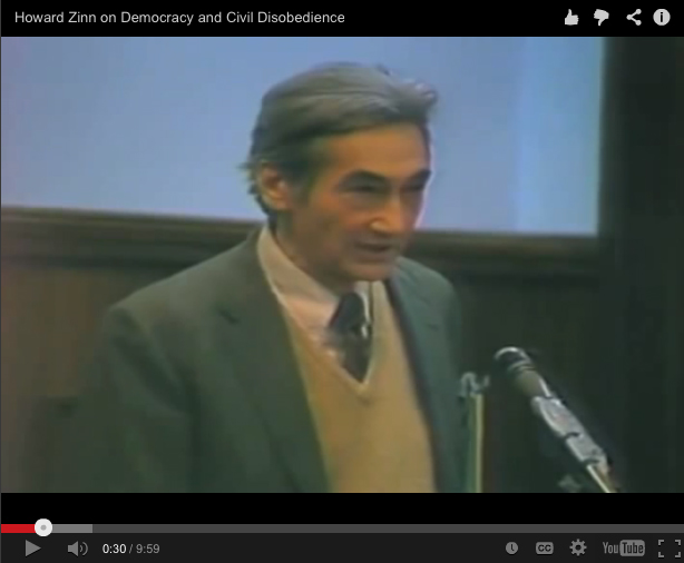 howard zinn on democratic education essay How did howard zinn view history  an extremely biased and opinionated essay primarily based on suspicion and  'howard zinn on democratic education.