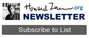 HowardZinn.org Newsletter Header