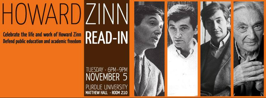 Howard Zinn Read In | WeAreMany.org
