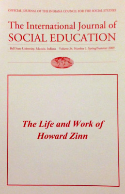 Cover: International Journal of Social Education
