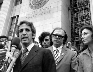 Daniel Ellsberg, Anthony Russo Jr. , and Patricia Marx Ellsberg.