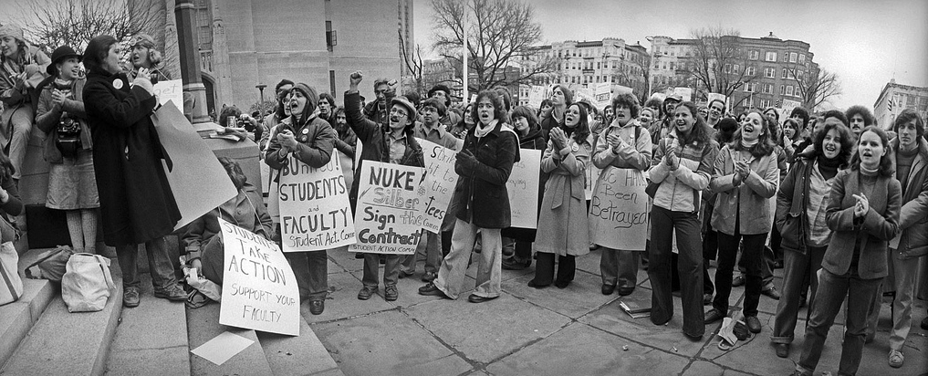 Students support Boston University faculty strike | HowardZinn.org