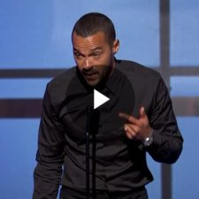 Jesse Williams at BET Awards | HowardZinn.org