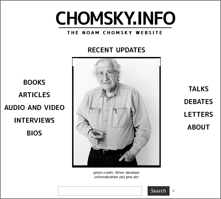 Noam Chomsky's Website | HowardZinn.org