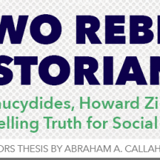 My Dream Job Essay Two Rebel Historians Thucydides Howard Zinn And Telling Truth For Social  Good Tips On Writing An Argumentative Essay also Autobiography Essay Examples Excerpts Archives  Howardzinnorg Memo Essay Example