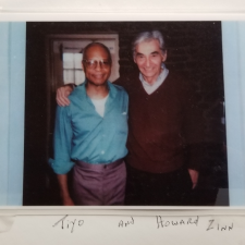 Tiyo Attallah Salah-El and Howard Zinn (undated) | HowardZinn.org