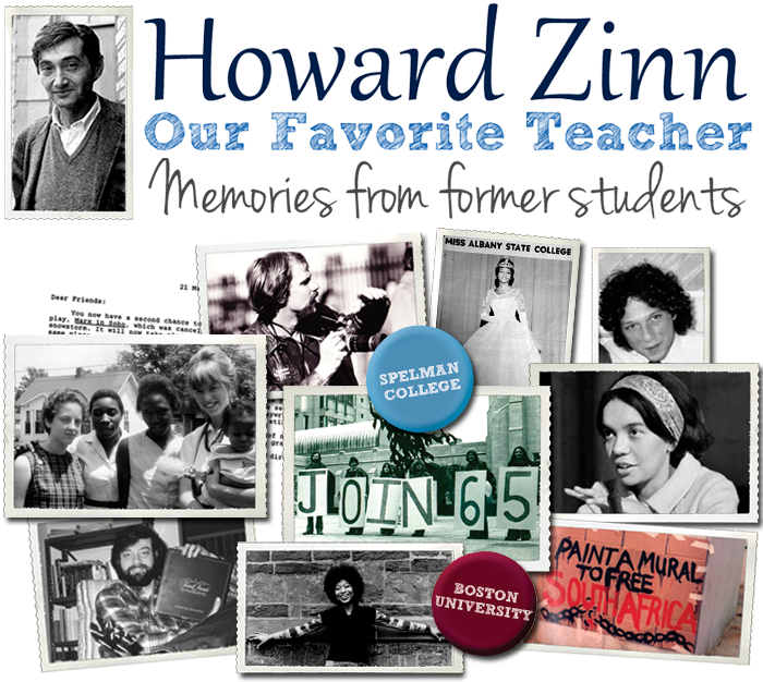 Our Favorite Teacher | HowardZinn.org