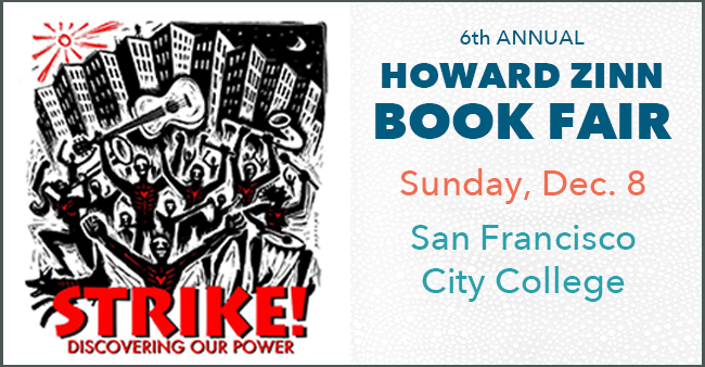 Graphic for 2019 Howard Zinn Book Fair