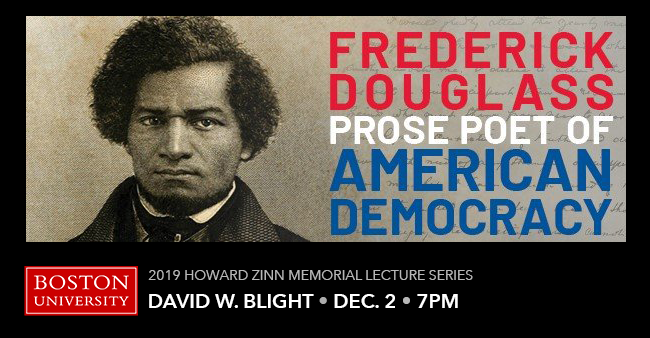 Howard Zinn Lecture Series: Frederick Douglass